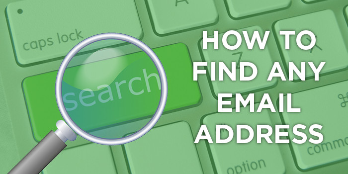 How to find email addresses