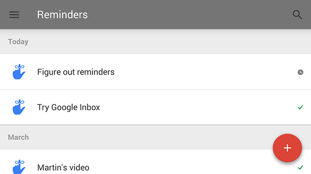 Gmail Inbox Reminders