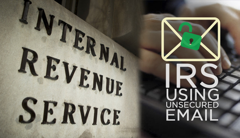 IRS Using Unsecured Email Addresses