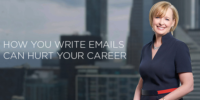 Julie Sweet says how you write emails can hurt your career